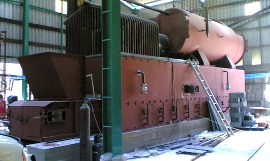 Modified Smoke Tube Steam Boiler